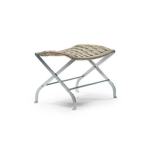 contemporary stool / leather / metal / by Antonio Citterio