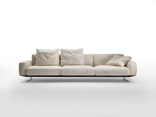 modular sofa / corner / contemporary / fabric