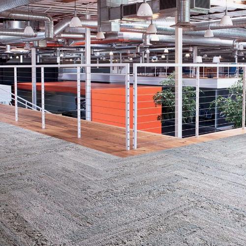 carpet tile / tufted / structured / polyamide