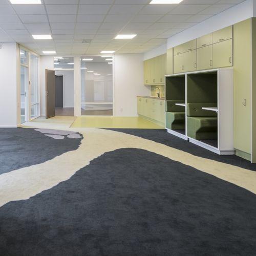 tufted carpet / cut pile / polyamide / wool