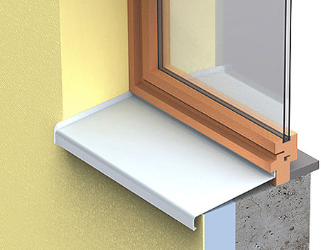 Aluminum Window Sill / Exterior