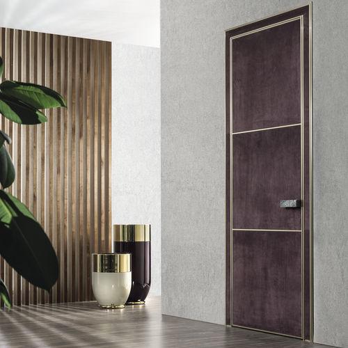 indoor door / swing / wooden / aluminium