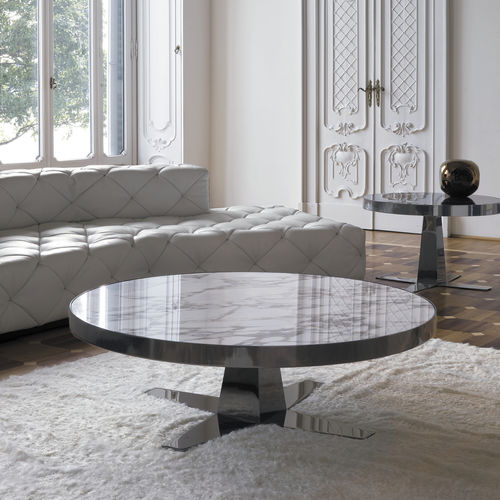 contemporary coffee table / walnut / ebony / wenge