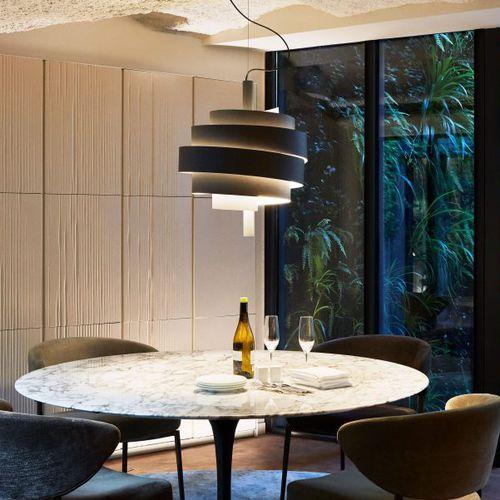pendant lamp / contemporary / metal / PVC