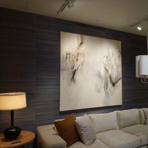Contemporary wallpaper / fabric / plain HORSEHAIR - 3254 Phillip Jeffries
