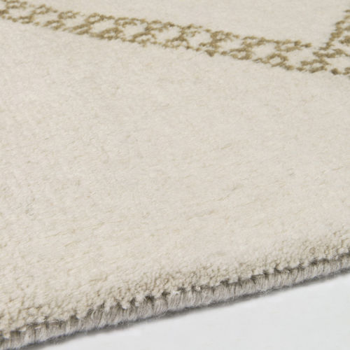 contemporary rug / plaid / wool / mohair