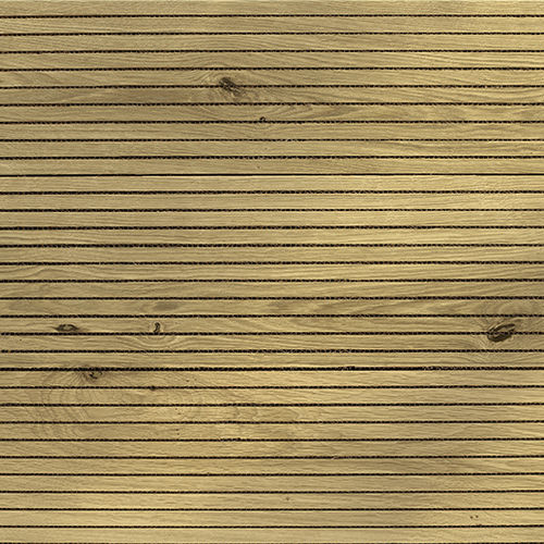 ceiling acoustic panel / wooden / decorative / PEFC-certified