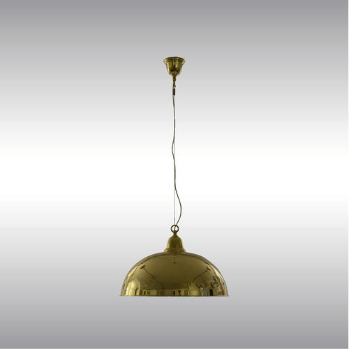 pendant lamp / traditional / brass / LED