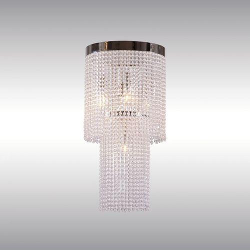 traditional chandelier / glass / brass / by Josef Hoffmann