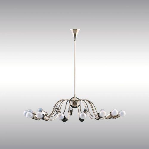 contemporary chandelier / brass / by Josef Hoffmann