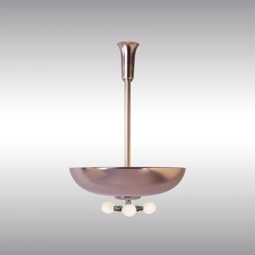 traditional ceiling light / brass / LED / home