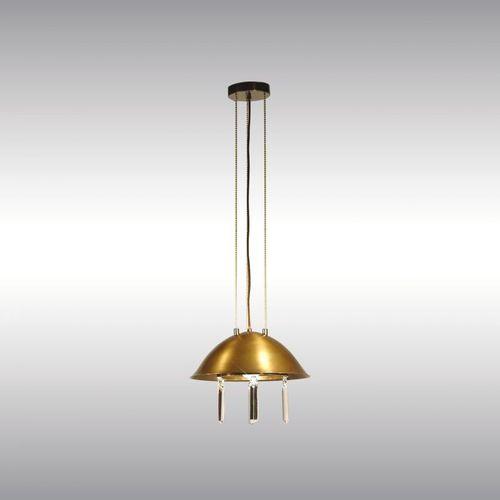 pendant lamp / traditional / brass / nickel