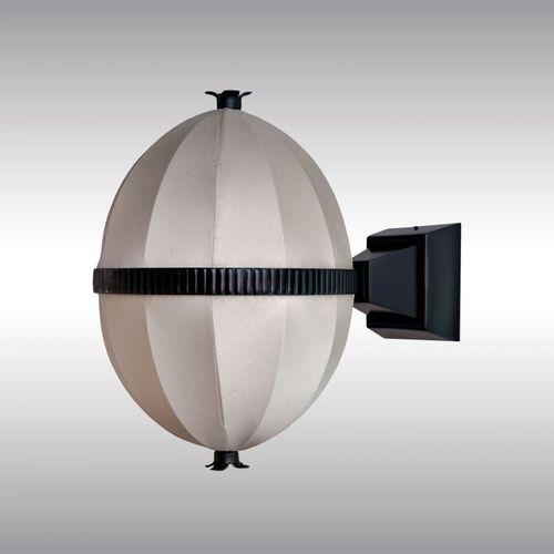 traditional wall light / brass / silk / LED