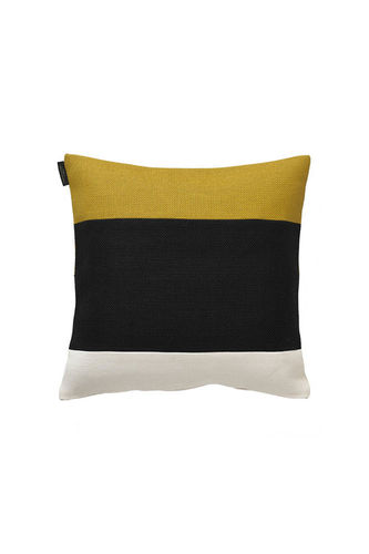 square cushion / patterned / cotton