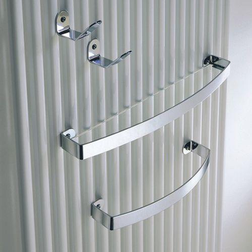 contemporary coat hook / brass / bathroom