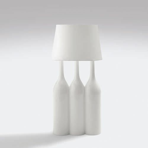 Table lamp / original design / fabric CHAMPAGNE 3 by Sam Baron BOSA
