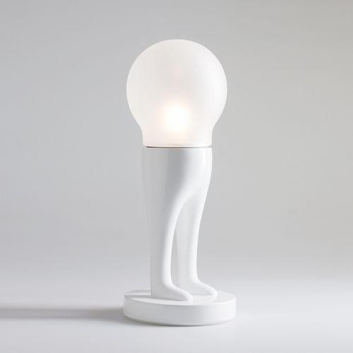 table lamp / original design / glass / ceramic