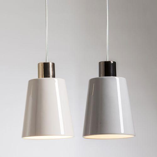 Pendant lamp / contemporary / ceramic / white RAY by Roberto & Ludovica Palomba BOSA
