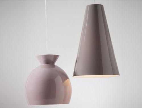Pendant lamp / contemporary / porcelain / pink SOSPENSIONI …ISSIMA! by Sam Baron BOSA