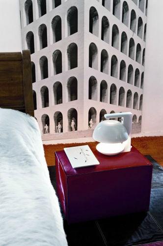 Table lamp / original design / ceramic / gray ELLE by Manolo Bossi BOSA