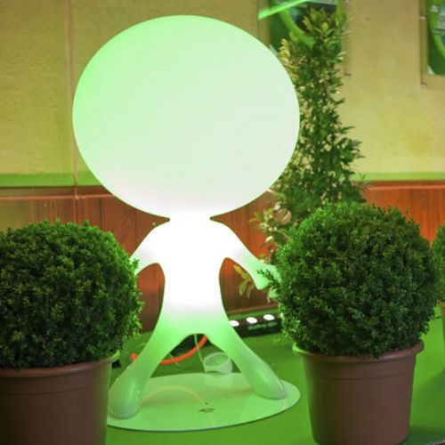 Floor lamp / original design / polyethylene / metal SPACEWALKER by Constantin Wortmann DARK AT NIGHT NV
