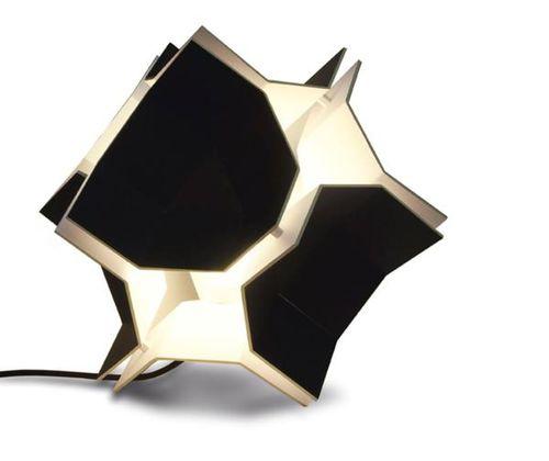 Floor lamp / original design / metal / ABS T&T by Nuuv DARK AT NIGHT NV