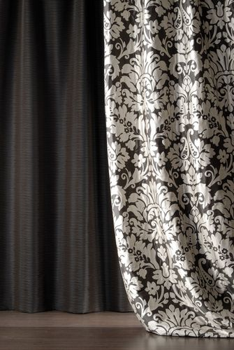 Curtain fabric / patterned / damask FIRENZE DECORTEX