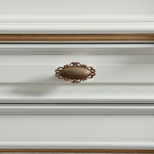 traditional furniture knob / brass