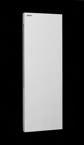 electric radiator / stone / contemporary / vertical