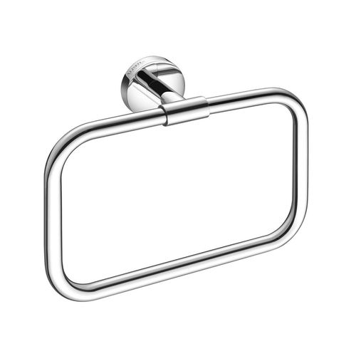 towel ring / wall-mounted / brass / for hotels