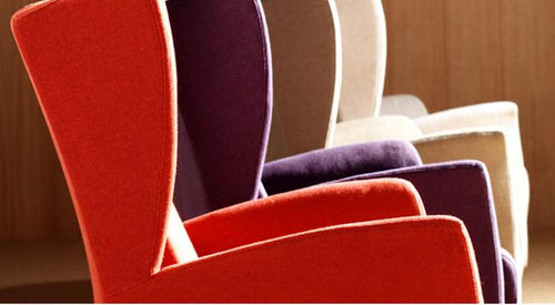 Contemporary armchair / fabric / wing PANECK FUN by Josep Gras GRASSOLER