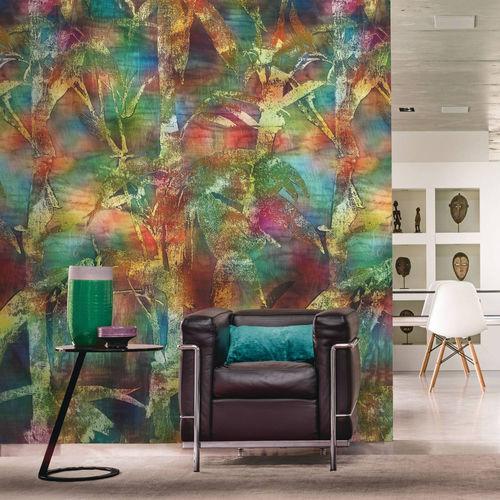 cover decorative panel / vinyl / for interior / fire-retardant