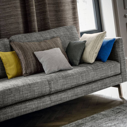 upholstery fabric / for curtains / plain / PES
