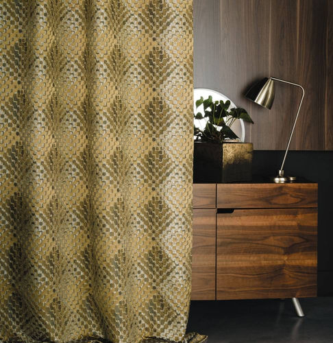 upholstery fabric / for curtains / patterned / linen