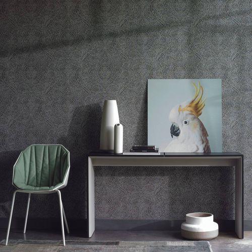 contemporary wallpaper / vinyl / patterned / color