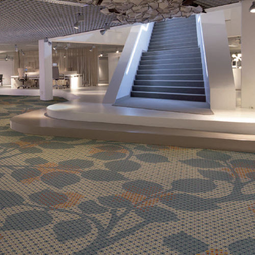 Tufted carpet / synthetic / commercial / printed FLOORFASHION by Muurbloem egetæpper