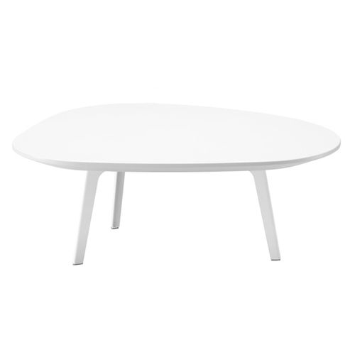 contemporary coffee table / MDF / plywood / steel