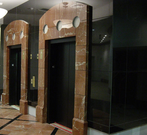 marble wallcovering / tertiary / polished / interior