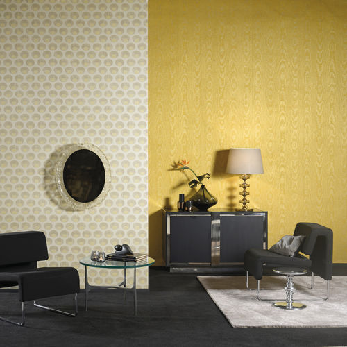 Fabric wallcovering / residential / non-woven / wallpaper look SHALIMAR Omexco