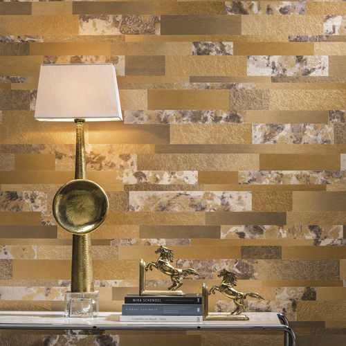natural cork wallcovering / home / tertiary / textured