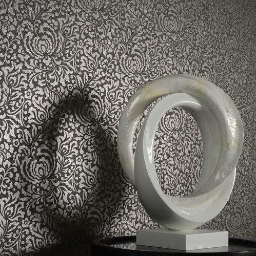mica wallcovering / home / printed / metal look