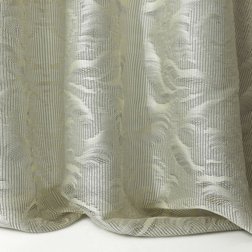 Patterned sheer curtain fabric / polyester / residential POMPEYA 06 LIZZO