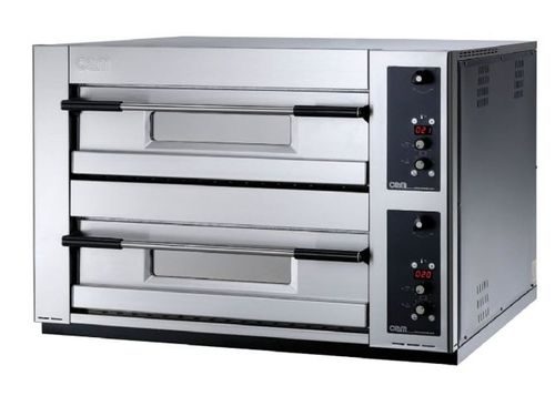 Electric oven / commercial / pizza / 2-chamber MB 12.35 SE OEM - Pizza System