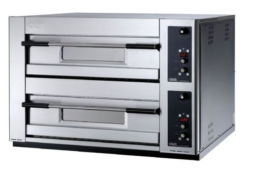 Electric oven / commercial / pizza / 2-chamber MB 8.35 E OEM - Pizza System