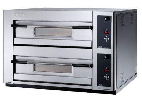 Electric oven / commercial / pizza / 2-chamber MB 12.35 LD OEM - Pizza System