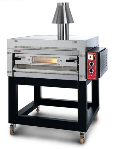 Gas oven / commercial / pizza / single-chamber SG/23/S GPL OEM - Pizza System