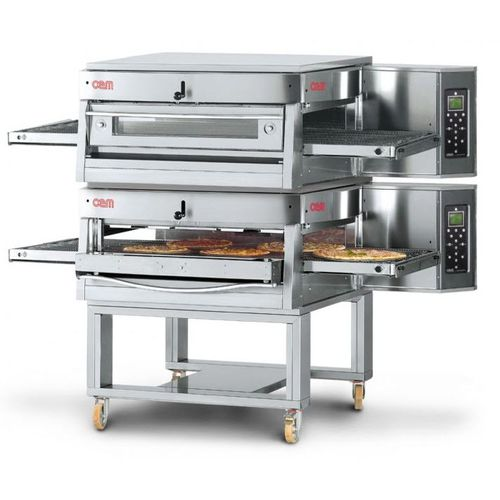 Gas oven / commercial / pizza / double HV/50-G/2 OEM - Pizza System