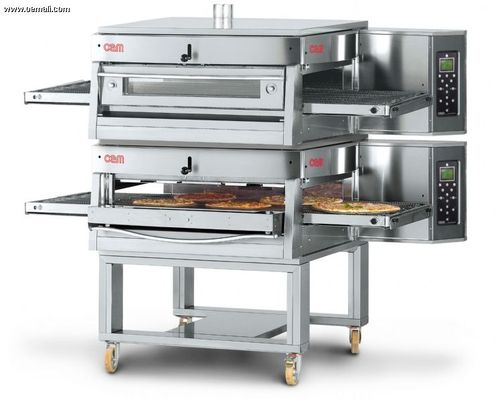 Gas oven / commercial / pizza / double HV/75-G/2 OEM - Pizza System