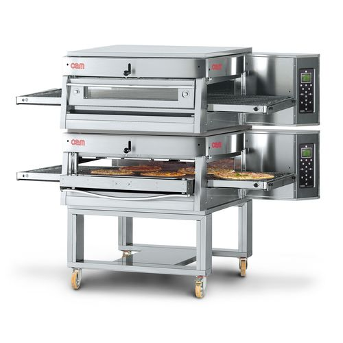 Electric oven / commercial / convection HV/75-E/2 OEM - Pizza System