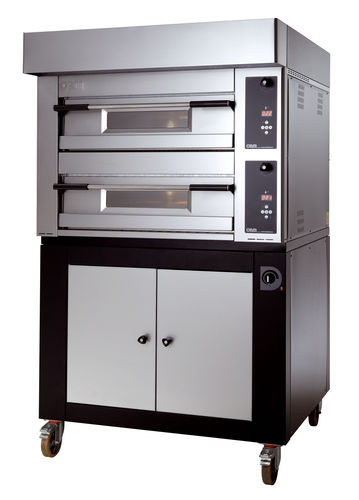 Commercial oven / electric / pizza / 2-chamber MB 8.35 D OEM - Pizza System
